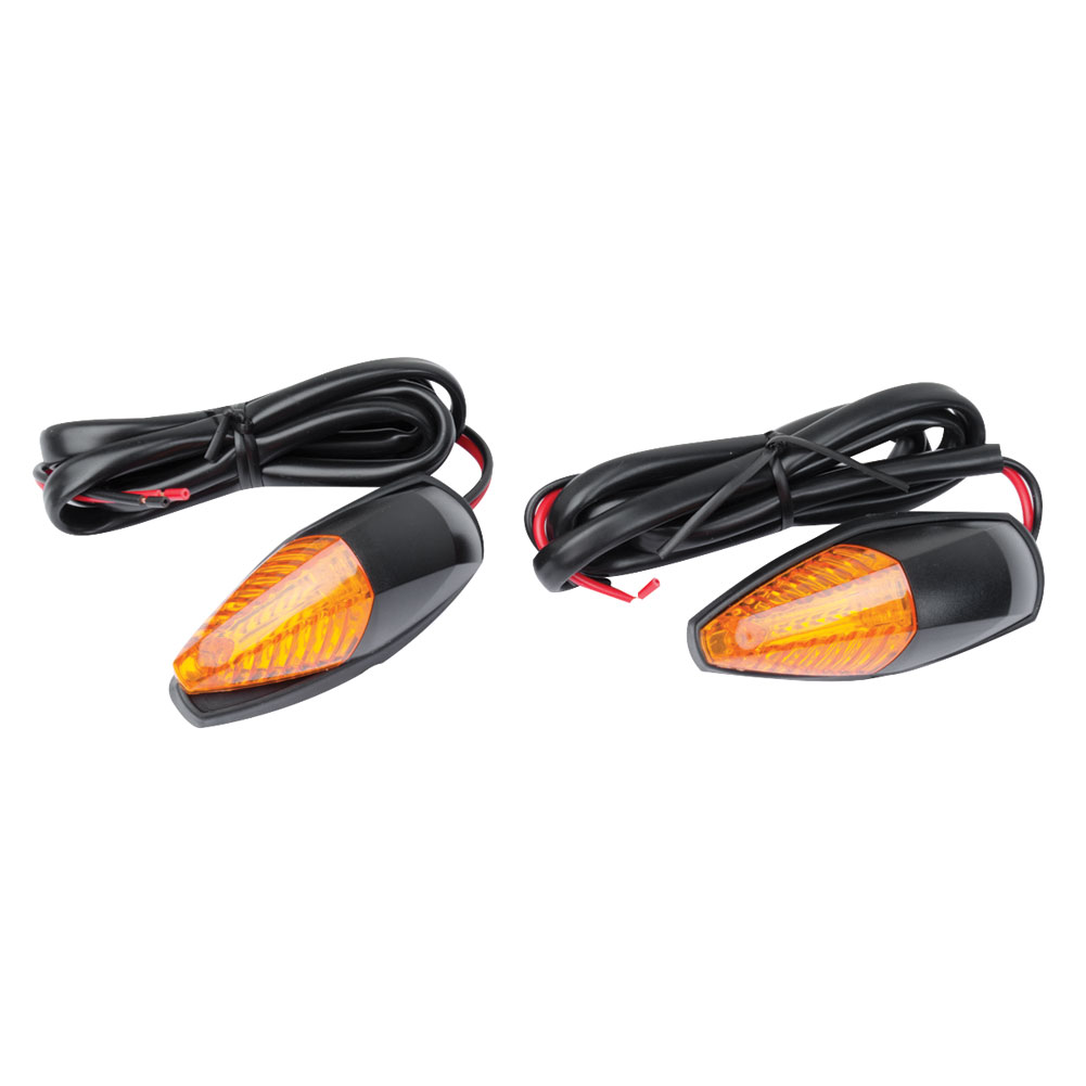 4 Pack Turn Signals Tusk Round L.E.D